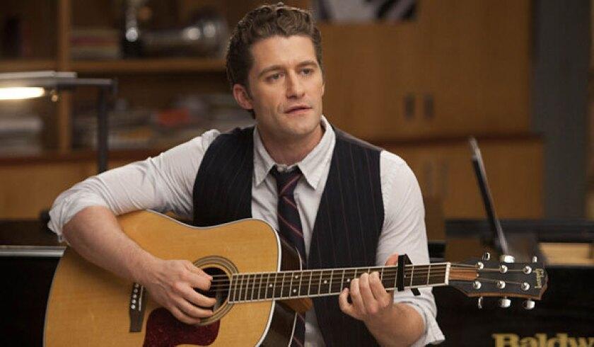 "Matthew Morrison portrays Will Schuester in Fox's ""Glee."""