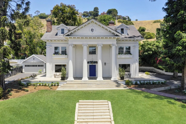 The Nickel-Leong mansion in Mount Washington