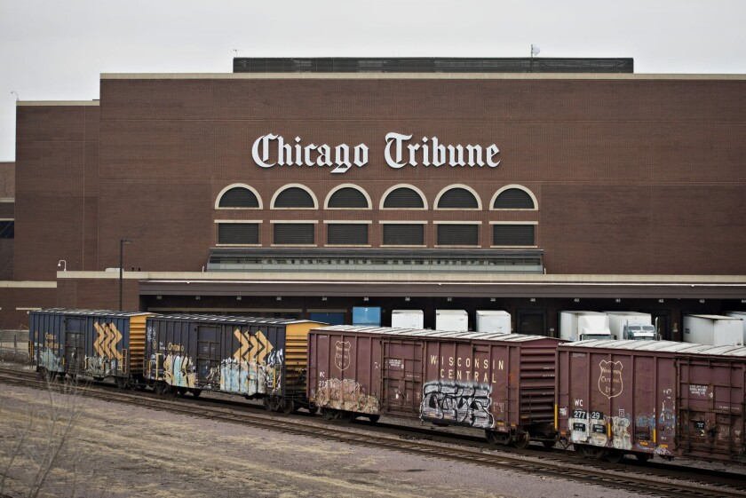 Tribune Co. to pay dividend in spinoff