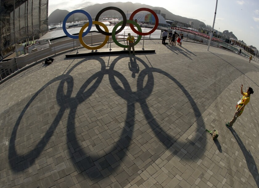 Responses to Rio Games all over the map - Los Angeles Times