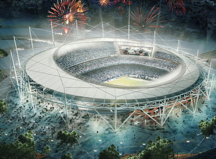 San Diego and St. Louis are hoping a stadium financing plan with some taxpayer contributions, will keep their teams from bolting to Los Angeles.
