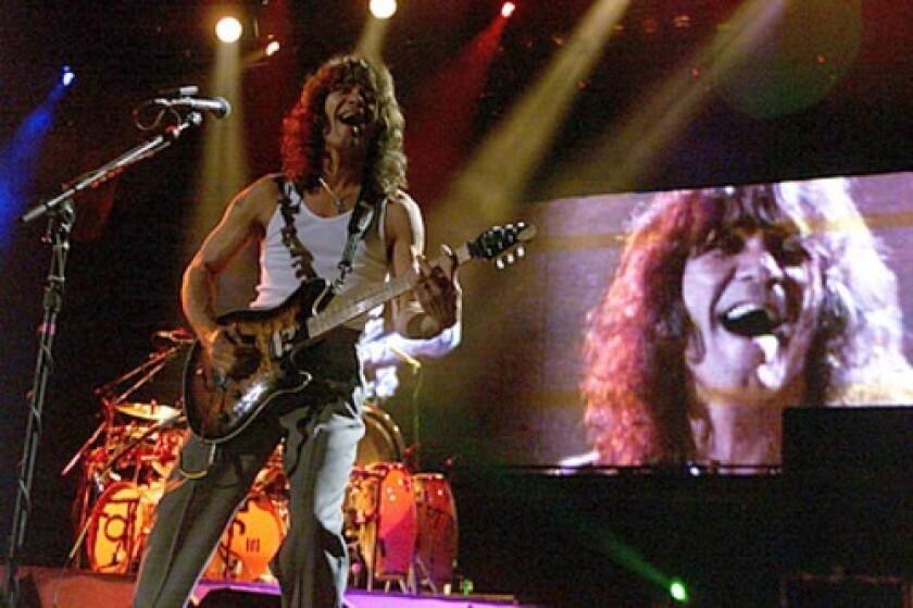 "Eddie Van Halen in 2007."""