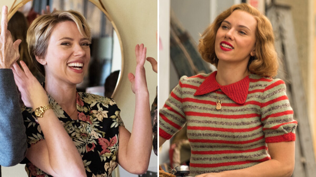 Scarlett Johansson Nabs 2 Oscar Nominations A First In 13 Years Los Angeles Times