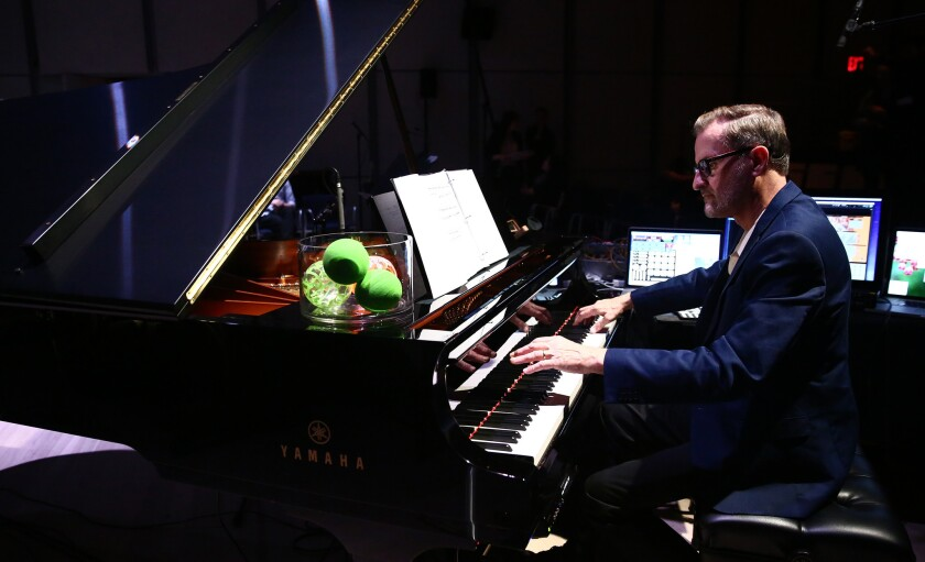 American composer David Rosenboom, a pioneer in experimental music, will give a keynote performance and speak on a panel at the San Diego Art Institute's inaugural AMT (art, music, technology) Festival this weekend.