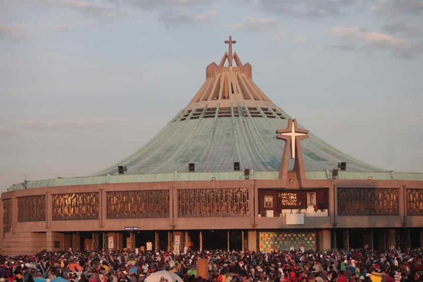 Vista de la Basílica de la Virgen de Guadalupe en Ciudad de México. EFE/Archivo