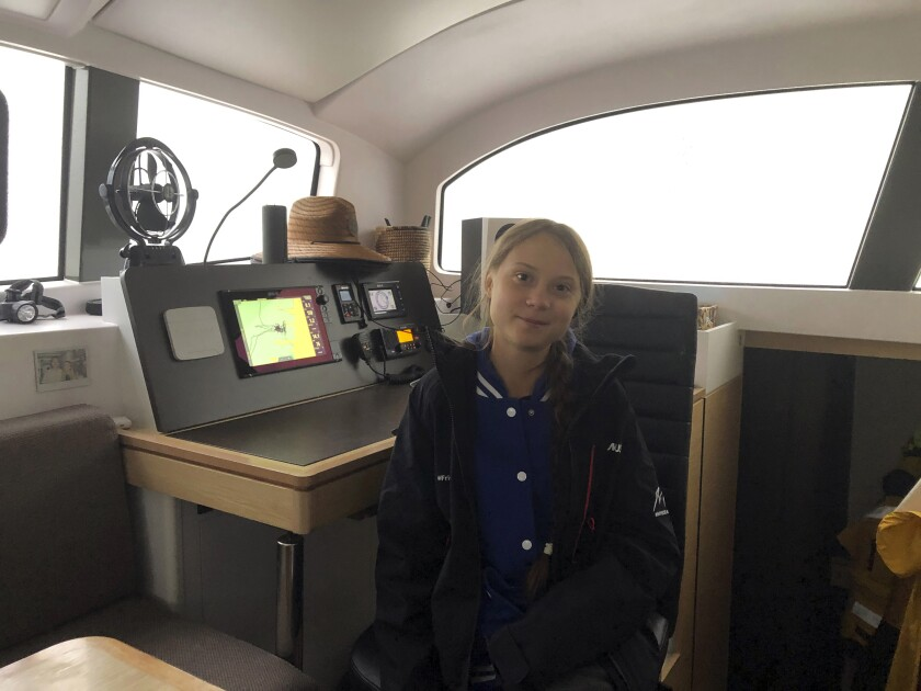 Greta Thunberg Return Trip