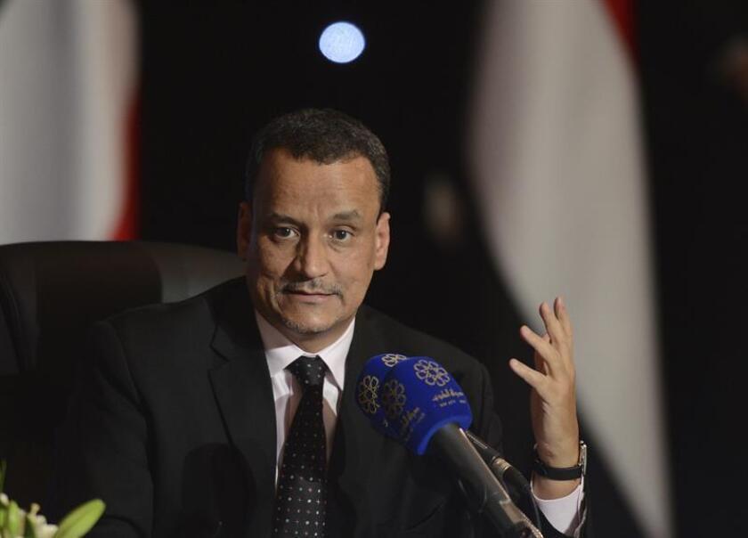 El enviado de la ONU para el Yemen, Ismail Uld Sheij Ahmed. EFE/Archivo