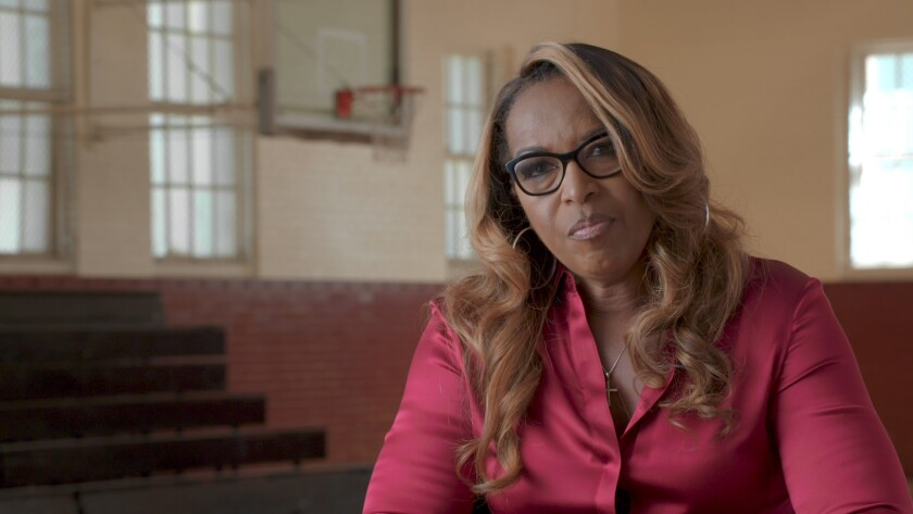 """Cynthia Cooper in HBO Sports' """"Women of Troy""""."""