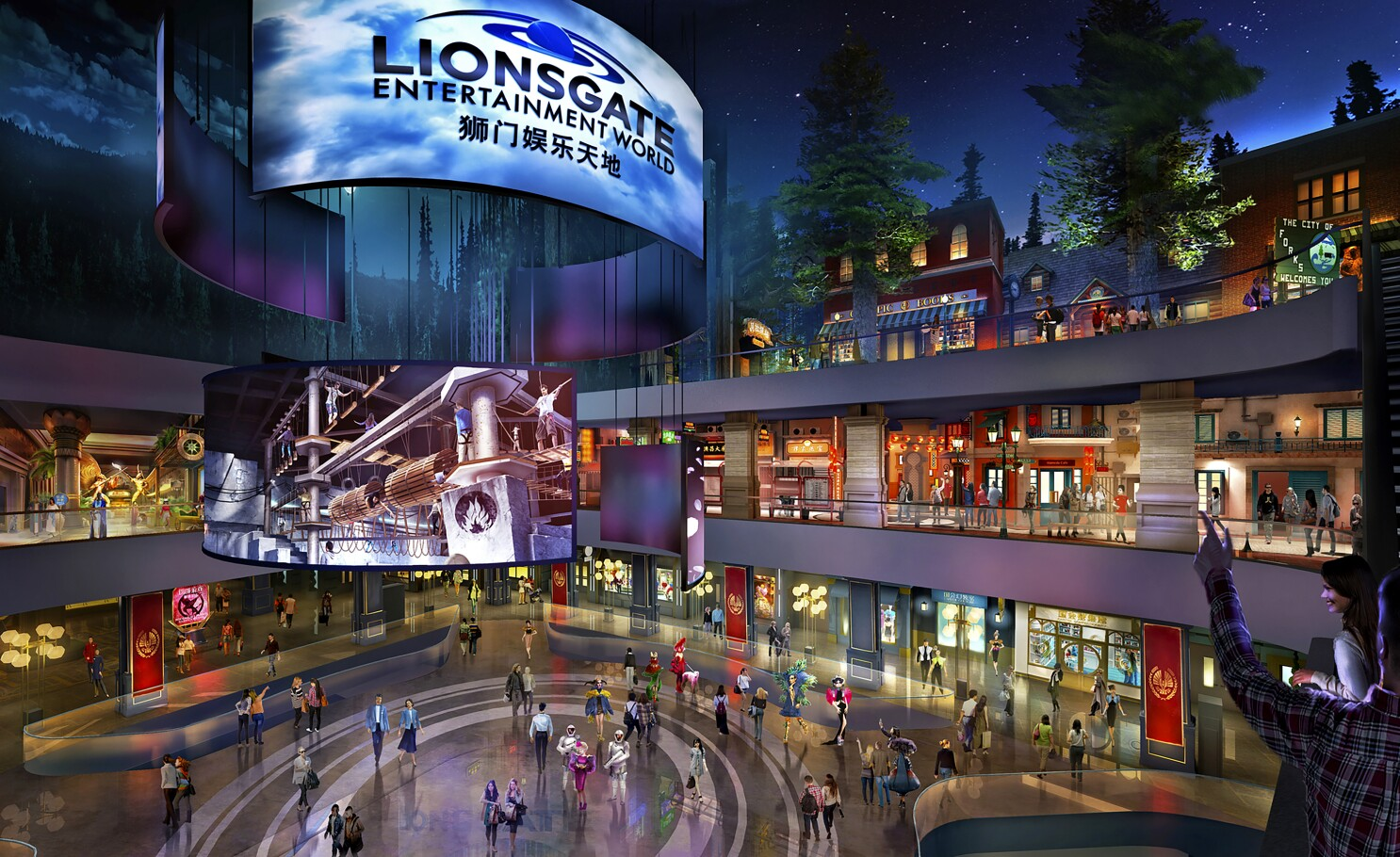 'Hunger Games' ride anchors edgy new adult theme park in China