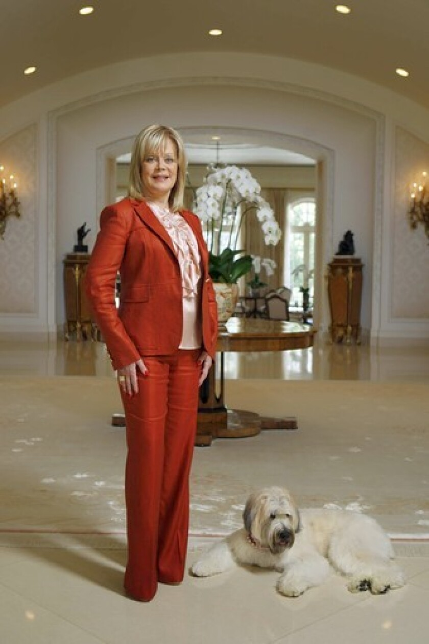 After eight months, Candy Spelling, widow of TV producer Aaron Spelling, shows no inclination to lower the price of her Holmby Hills mansion, the nation's most expensive residential listing.