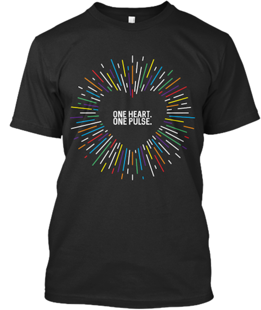 """One Heart. One Pulse."" tee, $22.99, at teespring.com."