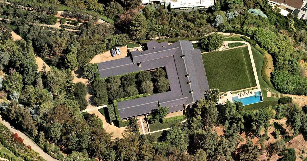 Top sales: Jeffrey Katzenberg's $125-million home sale was L.A.'s priciest in August