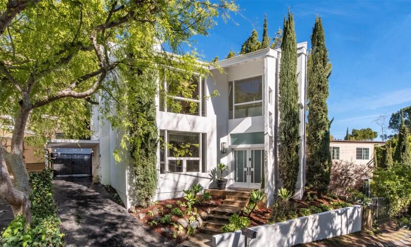 Jack Benny's Hollywood Hills home