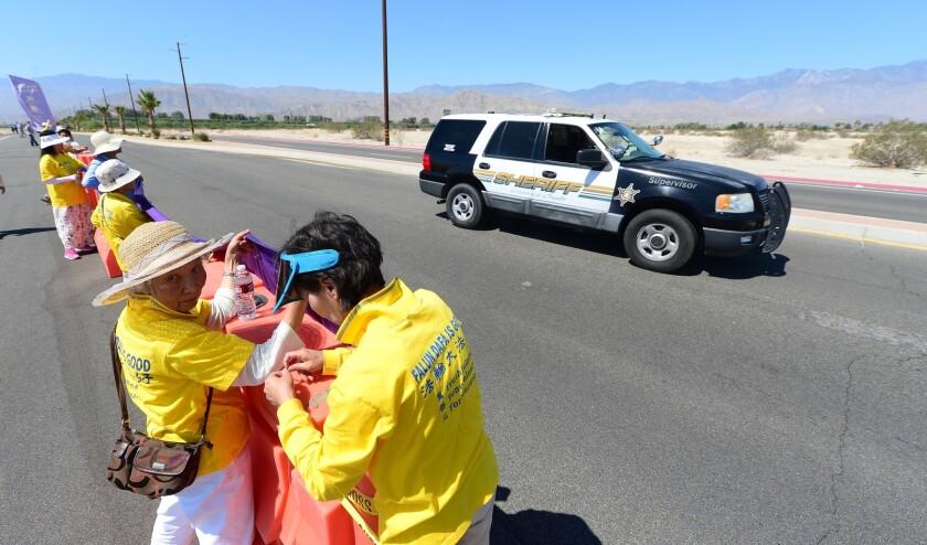 Falun Gong in Rancho Mirage