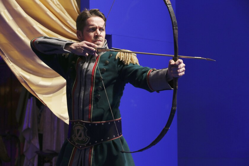 """Sean Maguire plays Robin Hood in """"Once Upon a Time."""""""