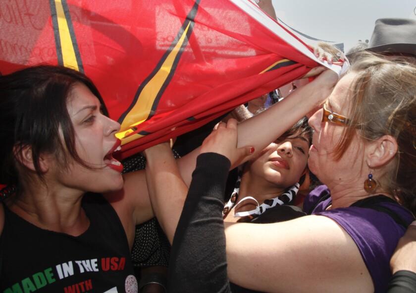 Murrieta protest