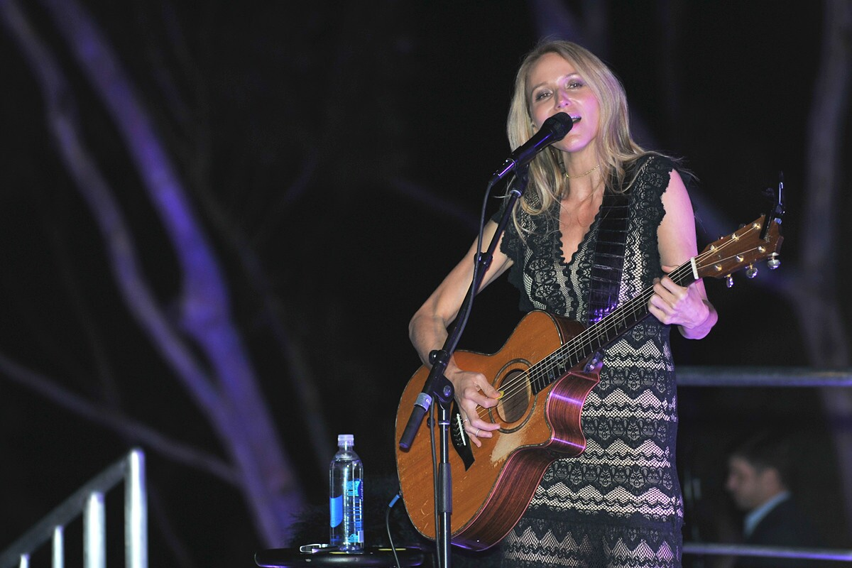 America's Finest citizens enjoyed an evening of international cuisine and a performance from Jewel at the Breeder's Cup Taste of the World party at Birch Aquarium on Thursday, Nov. 2, 2017.