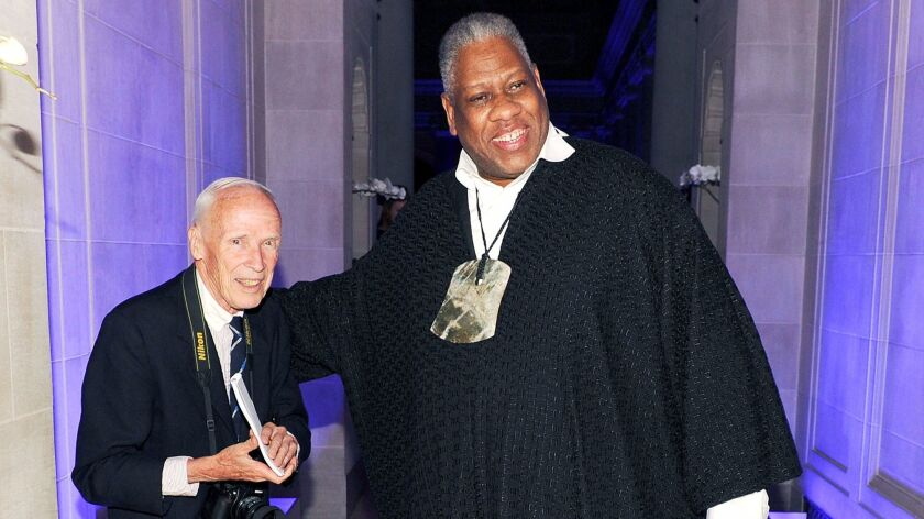 Bill Cunningham and André Leon Talley.