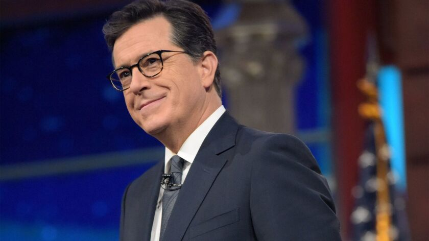 "Stephen Colbert Election Night Special"" on Showtime. (Scott Kowalchyk/CBS)"