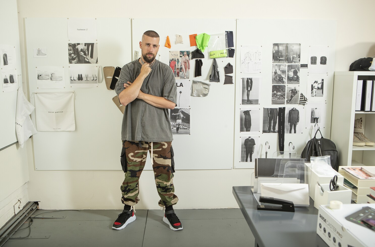 How Designer Daniel Patrick Went From Sports To Fashion Los Angeles Times