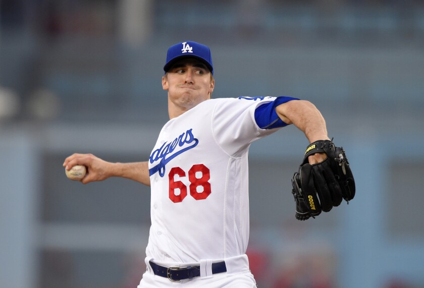 Ross Stripling will be in the bullpen to help the Dodgers' depleted staff.