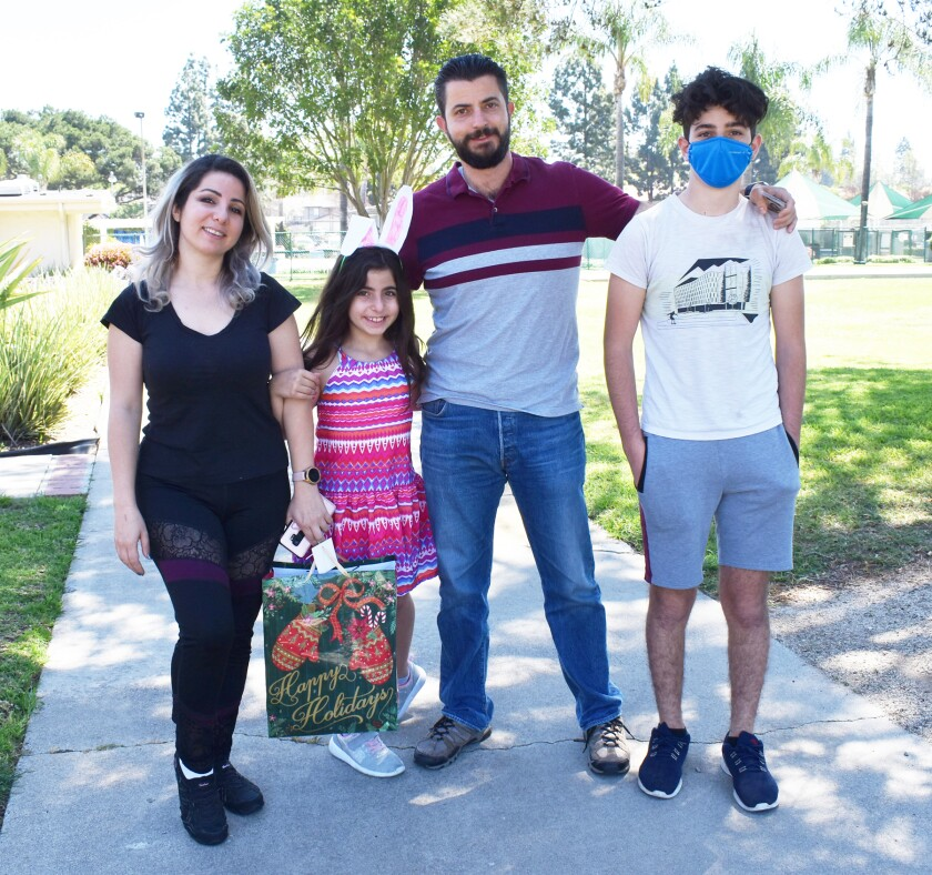 The Bakhus family — Dana and Younan with their children, Karin, 8, and Anwar, 15. See more photos in the gallery below.