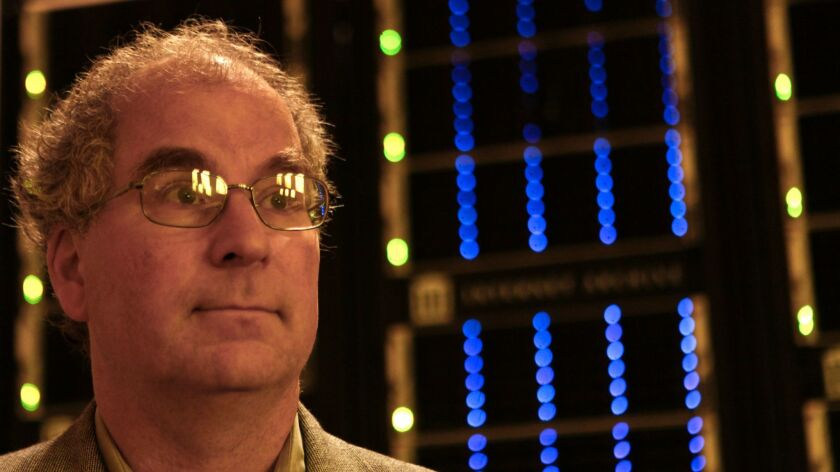 Eying a Canadian backup: Brewster Kahle, founder and chairman of the Internet Archive, in a 2012 photo.