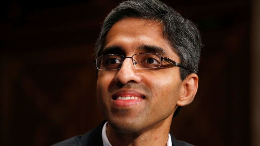 U.S. Surgeon General Vivek Murthy says addiction is not a moral failure, but a disease of the brain.