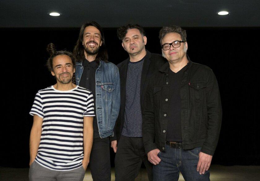 Rubén Albarrán, Emmanuel Meme del Real, Enrique Quique Rangel, y Jose Alfredo Joselo Rangel: Cafe Tacvba.