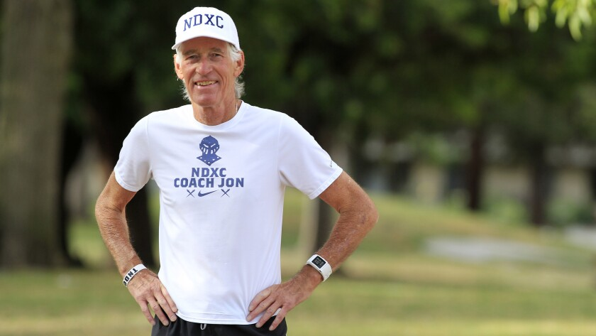 Jon Sutherland, the cross-country coach at Sherman Oaks Notre Dame, has run at least one mile every day since May 26, 1969.