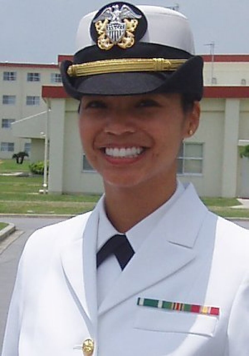 Navy Lt. Florence Bacong Choe