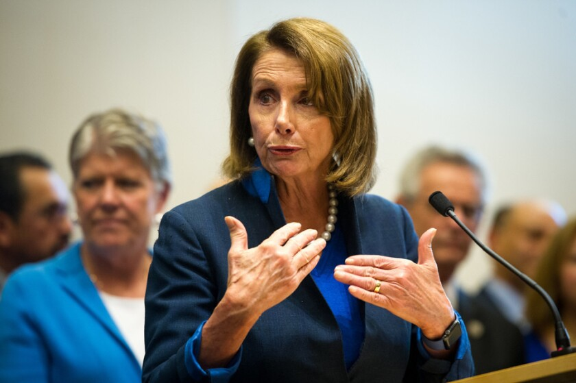 Pelosi hopes prescription drug bill will give Democrats something to show voters in 2020