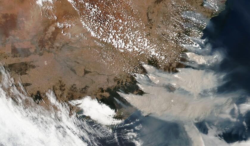 Australia Wildfire Climate