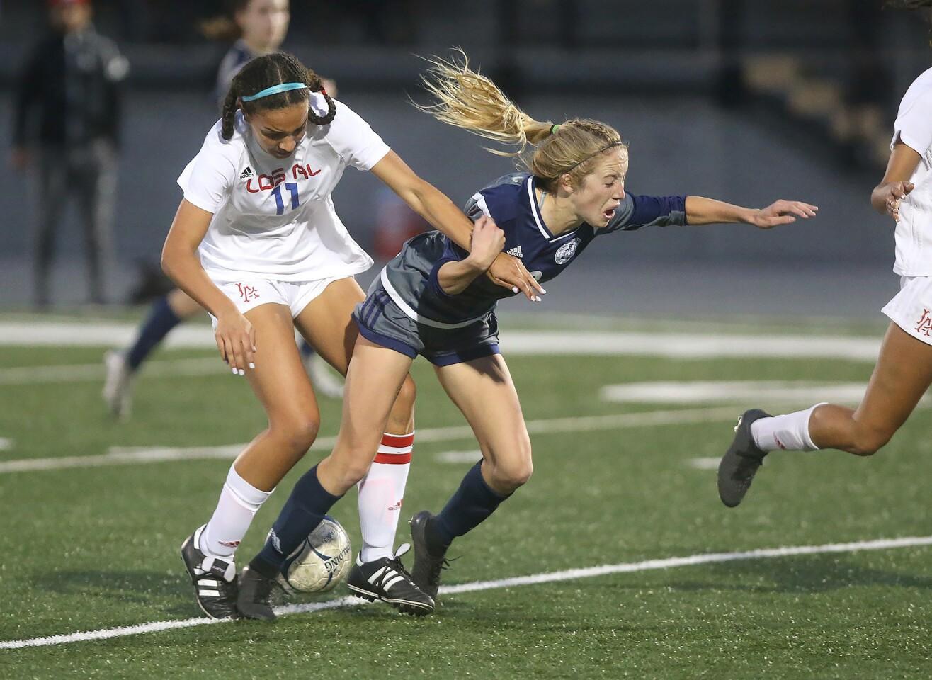 Photo Gallery: Newport Harbor vs. Los Alamitos in girls' soccer
