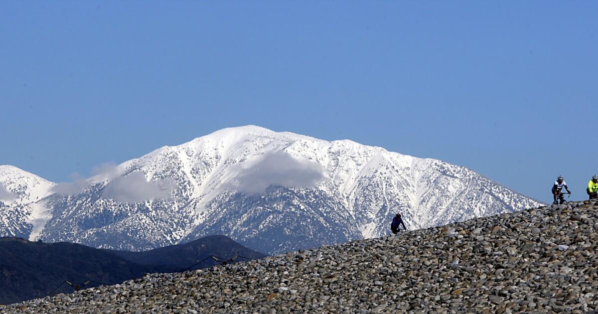 Unvorbereitete Wanderer gerettet, die von Mt. Baldy Bereich