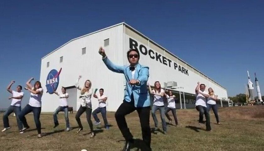 NASA chief touts 'Gangnam' parody, 'NASA Johnson Style'