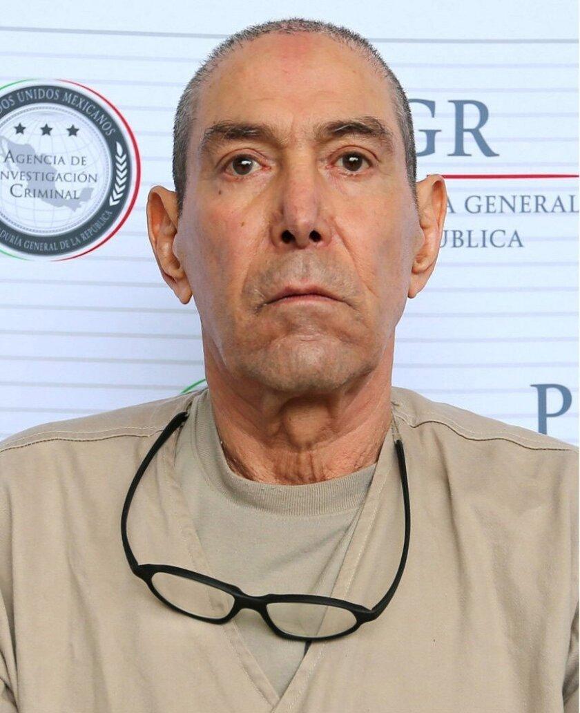 Antonio Reynoso González. EFE/PGR/SOLO USO EDITORIAL