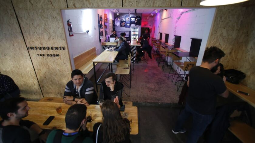 Tijuana brewery Insurgentes is selling a beer which proceeds benefit migrants called Migrante.