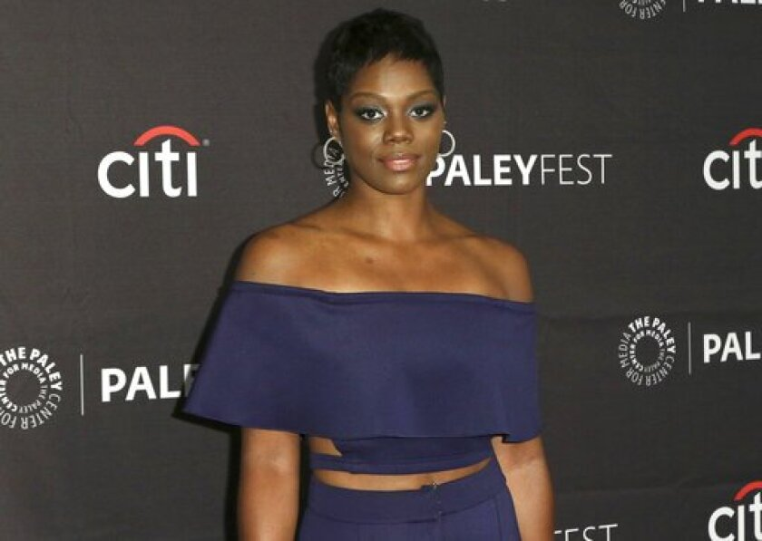 Afton Williamson at the Paley Center for Media in Beverly Hills on Sept. 8.