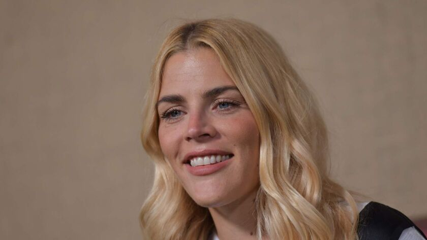 """After a decade in Hollywood starring on series like """"Dawson's Creek,"""" """"Freaks and Geeks"""" and """"Cougar Town,"""" Busy Philipps will debut her new late-night talk show """"Busy Tonight"""" Sunday on E!"""
