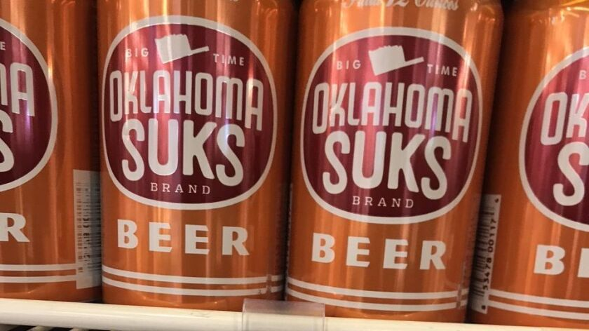 An amber ale with a bitter aftertaste for Longhorn fans