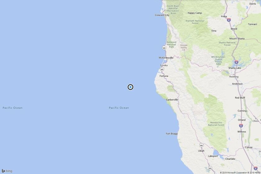 Earthquake: 3.9 quake strikes near Capetown, Calif.