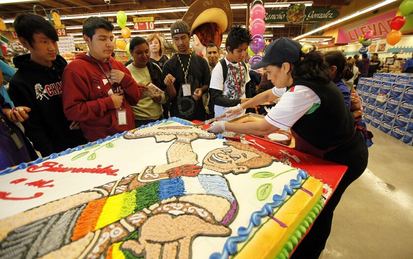 Northgate Gonzalez opened its seventh store in San Diego County in October with a big party including a massive cake, mariachi music and grocery giveaways.