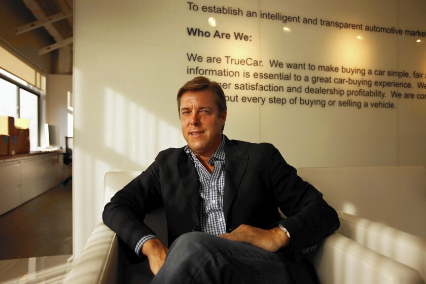 """TrueCar CEO Scott Painter acknowledged that he sometimes had a """"strained relationship"""" with the very dealers the company needs to work with."""
