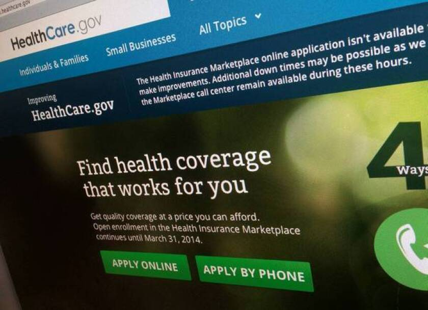 HealthCare.gov website working for most users, officials say