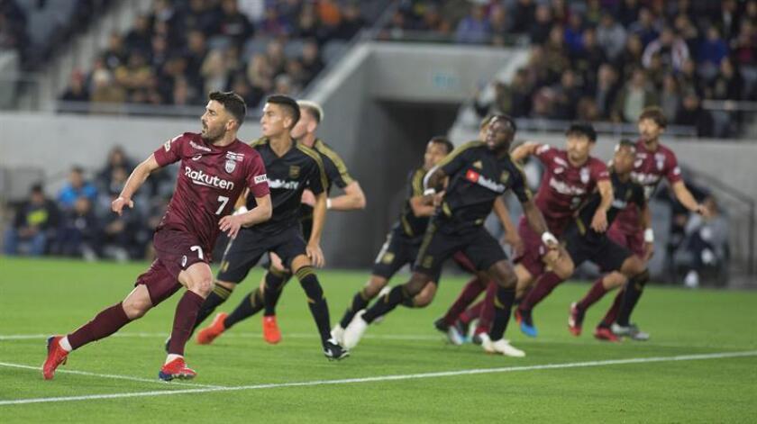 El Vissel Kobe de Iniesta cae por 4-1 ante el LAFC de un gran Carlos Vela