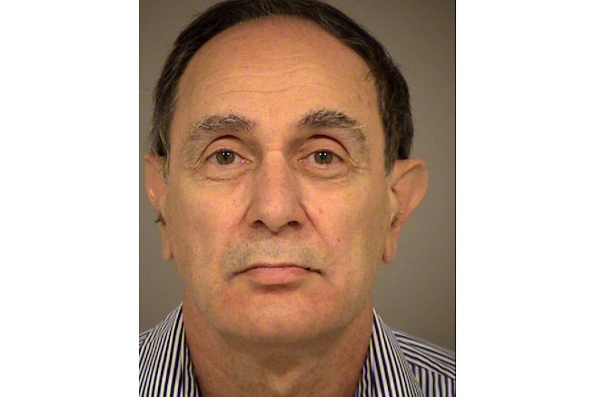 Leopold Weinstein, 63, was arrested Friday on suspicion of setting Ventura County dental offices on fire.