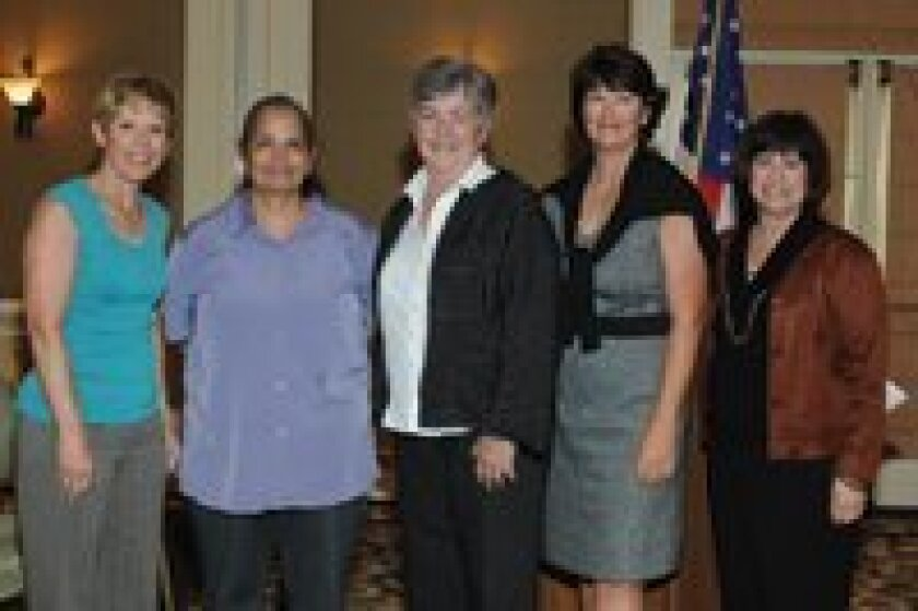 RSF Foundation board member Franci Free, Diana Peralta and Martha Ranson of The Tomorrow Project, board member Donna Walker, RSF Foundation Programs Manager Debbie Anderson.