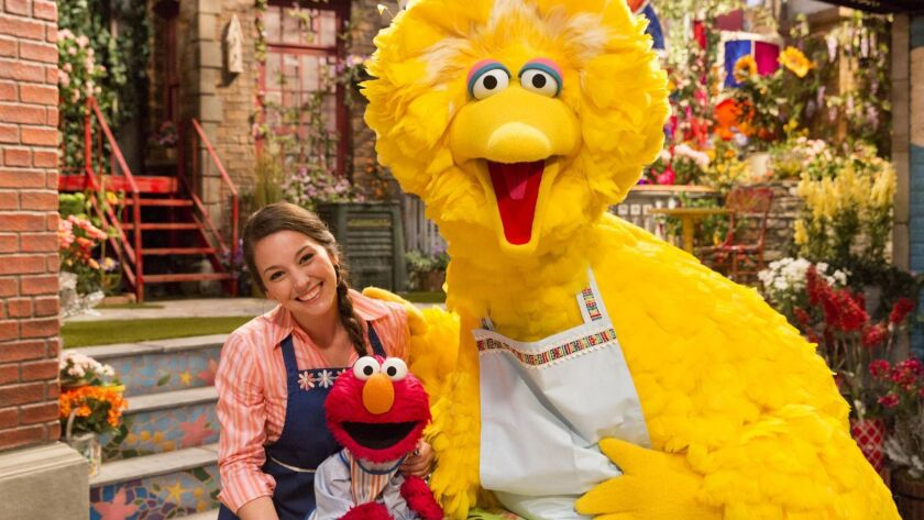 """Episodes of """"Sesame Street"""" are broadcast on Public Broadcasting Service stations nine months after they first appear on HBO."""