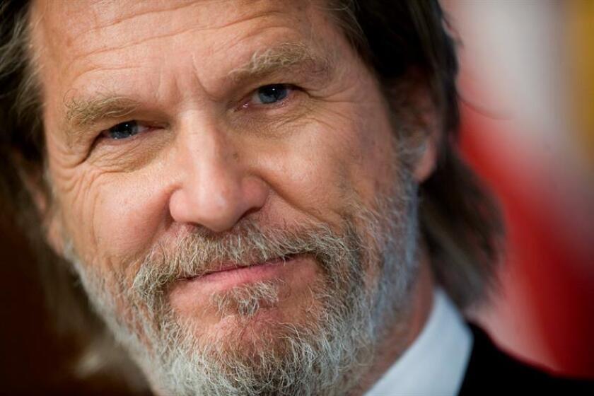 Fotografía del actor estadounidense Jeff Bridges. EFE/Archivo